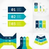 Nowożytny infographics element Zdjęcia Stock
