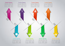 Nowożytny infographics projekt Obraz Stock