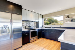 Nowożytny kuchenny izbowy projekt Fotografia Royalty Free