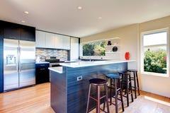 Nowożytny kuchenny izbowy projekt Zdjęcie Royalty Free