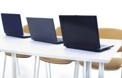 nowożytny laptopu biuro Fotografia Stock