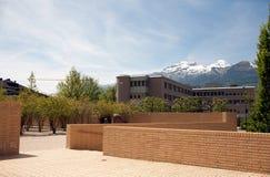 Nowożytny Liechtenstein widok górski Zdjęcia Royalty Free