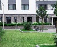 Nowożytny, Luksusowy budynek mieszkaniowy Fotografia Royalty Free