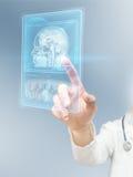Nowożytny mózg badanie Fotografia Stock