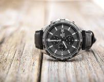 nowożytny mens zegarek Zdjęcia Royalty Free