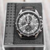nowożytny mens zegarek Zdjęcie Royalty Free
