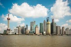 Nowożytny miasto Shanghai Obraz Royalty Free