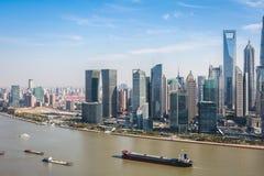 Nowożytny miasto Shanghai Fotografia Royalty Free