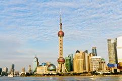 Nowożytny miasto Shanghai Zdjęcie Royalty Free