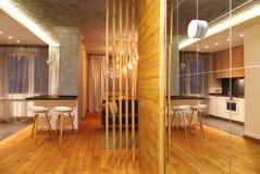 nowożytny mieszkania studio Obraz Stock