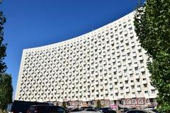 Nowożytny mieszkaniowy bulding w Astana Fotografia Stock