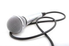 Nowożytny mikrofon Fotografia Royalty Free