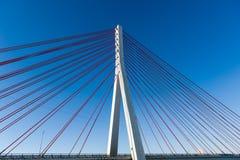 Nowożytny most Obraz Royalty Free