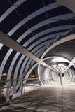 Nowożytny most w Madrid zdjęcia stock