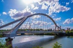 Nowo?ytny most w Seville Hiszpania - architektury t?o fotografia royalty free