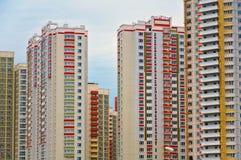 Nowożytny multistory l budynek w Moskwa, Rosja Obrazy Royalty Free