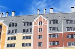 Nowożytny, nowy wykonawczy budynek mieszkaniowy, Zdjęcie Royalty Free