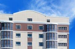 Nowożytny, nowy wykonawczy budynek mieszkaniowy, Fotografia Royalty Free