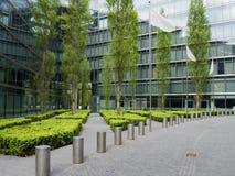nowożytny parkowy chodniczek Zdjęcia Royalty Free