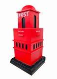 nowożytny postbox Obrazy Royalty Free