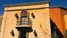 Nowożytny Rapunzel balkon fotografia royalty free