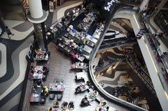 Nowożytny restauracyjny cukierniany widok od above Fotografia Royalty Free
