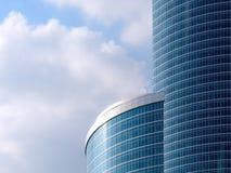 Nowożytny szklany budynku drapacz chmur Zdjęcie Royalty Free
