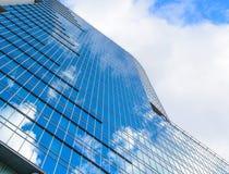 Nowożytny szklany wzrosta budynku drapacz chmur Obraz Stock