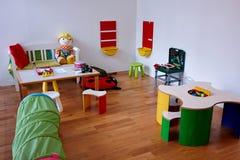 Nowożytny sztuk children pokój Zdjęcia Stock