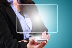 Nowożytny technologia komunikacyjna telefon komórkowy Obrazy Stock