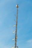 Nowożytny telekomunikaci wierza Obraz Royalty Free