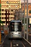 Nowożytny Tramwajowy Düsseldorf Obrazy Royalty Free