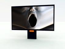Nowożytny TV 3 Zdjęcia Stock