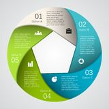 Nowożytny wektorowy szablon dla twój biznesowego projekta Zdjęcie Royalty Free