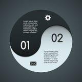 Nowożytny wektorowy szablon dla twój biznesowego projekta Obraz Royalty Free