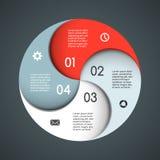 Nowożytny wektorowy szablon dla twój biznesowego projekta Obrazy Royalty Free