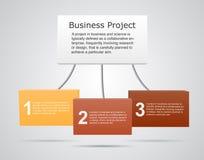 Nowożytny wektorowy szablon dla twój biznesowego projekta Fotografia Royalty Free
