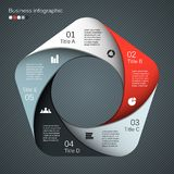 Nowożytny wektorowy szablon dla twój biznesowego projekta Obrazy Stock