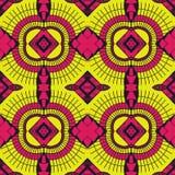 NOWOŻYTNY wosku Afro Ankara wzór ilustracji