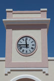Nowożytny zegar na wierza Zdjęcie Stock