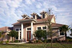 nowo zbudowane do domu Zdjęcie Royalty Free