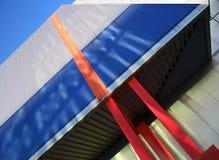 nowoczesna abstrakcyjna konstrukcji zdjęcia stock