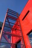 nowoczesna architektura abstrakcyjna zdjęcie stock