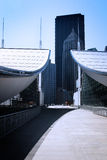 nowoczesna architektura abstrakcyjna Fotografia Stock