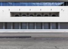 nowoczesna architektura abstrakcyjna tło miejskie Obrazy Stock