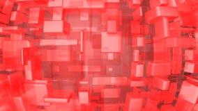 nowoczesna czerwone tło Zdjęcie Stock