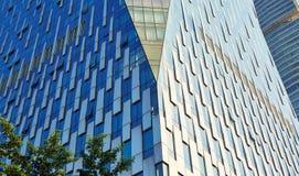 nowoczesna fasada budynku Obraz Stock