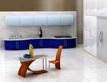 nowoczesna kuchnia obrazy stock