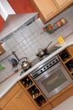 nowoczesna kuchnia Fotografia Stock