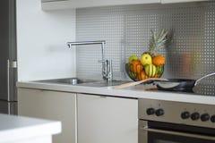 nowoczesna kuchnia wewnętrznego Fotografia Royalty Free